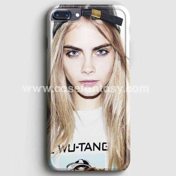 Cara Delevingne Fashion Model Star case provides a protective yet stylish shield between your iPhone 7 Plus and accidental bumps, drops, and scratches. Features slim and lightweight profile, precise c