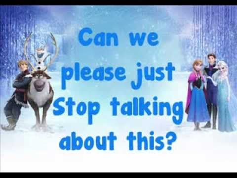 Disney's Frozen - Fixer Upper - Soundtrack - Lyrics