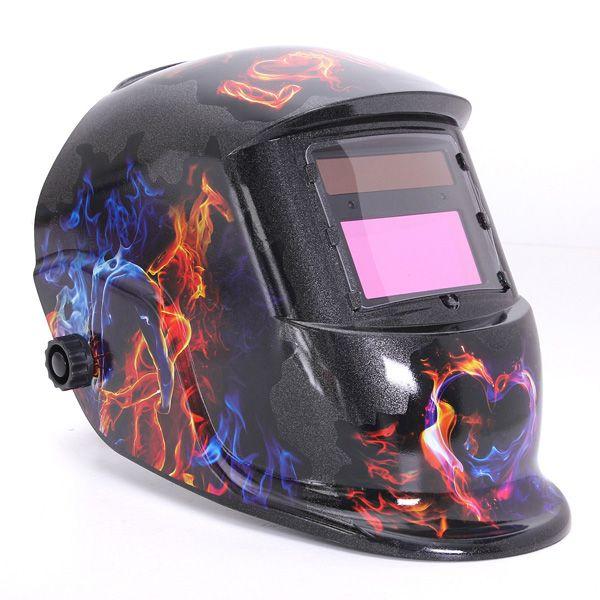 Ghosts Love <b>Solar Auto Darkening Welding</b> Helmet Arc Tig mig ...