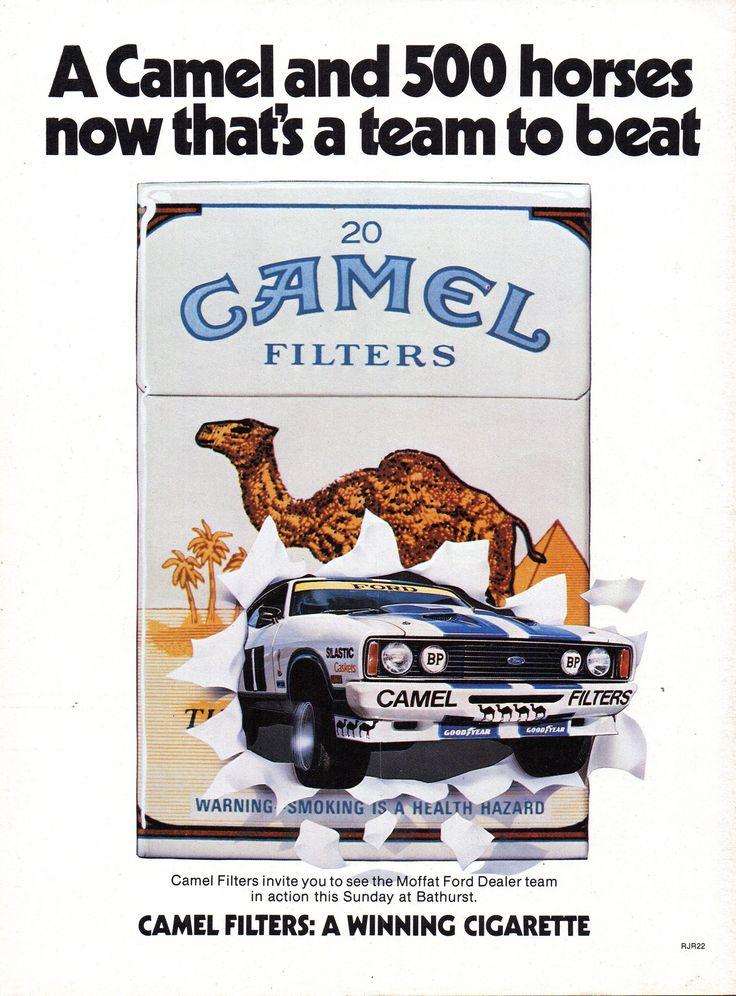https://flic.kr/p/YCxthb | 1978 Camel Cigarette Tobacco XC Ford Falcon Cobra 2 Door Hardtop Aussie Original Magazine Advertisement
