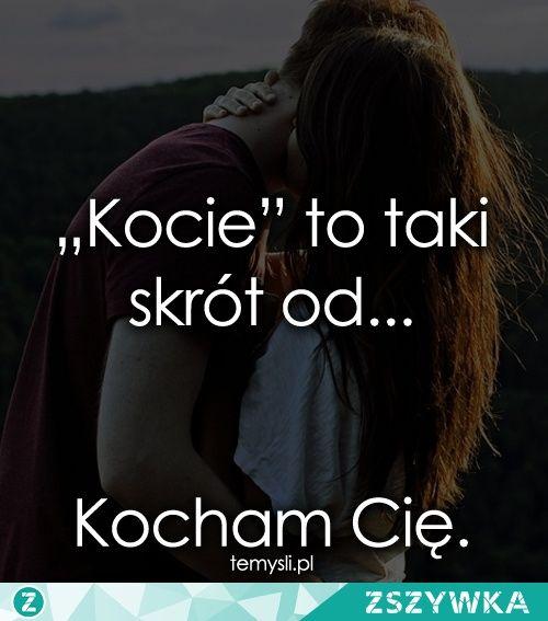 Kocham Cię 😘