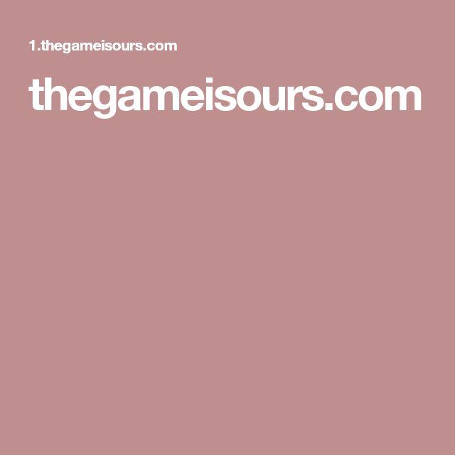 thegameisours.com