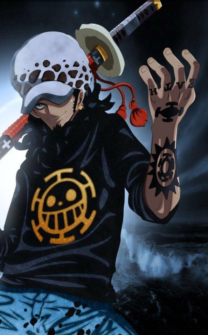 Trafalgar D Water Law Manga Anime One Piece One Piece Anime One Piece Manga