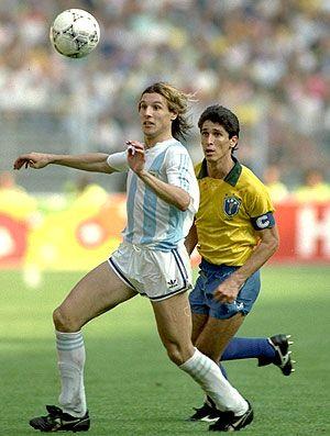 Argentina vs Brazil. Claudio Caniggia, El Hijo del Viento.