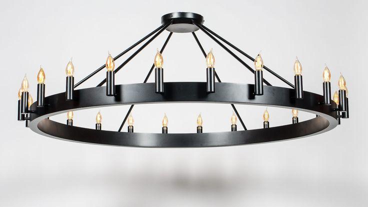 5ft diameter chandelier Romers