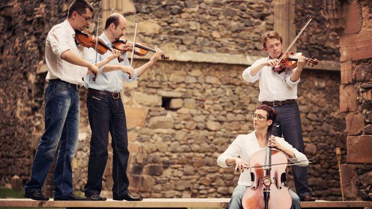 Coldplay - Viva La Vida (instrumental cover) - official string quartet c...