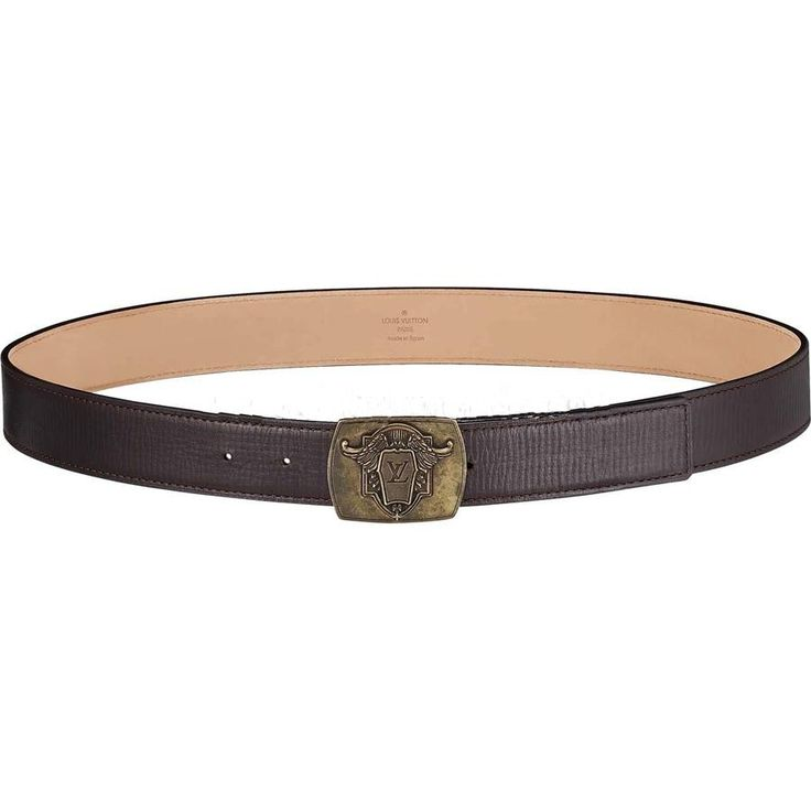 Fearture: * Antiqued brass buckle inspired by the letter head used by Gaston-Louis Vuitton * Utah leather * Nubuck lining * Tone-on-tone stitching
