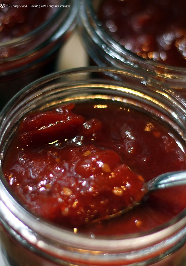 Cooking With Mary and Friends: Sweet and Sticky Tomato Jam