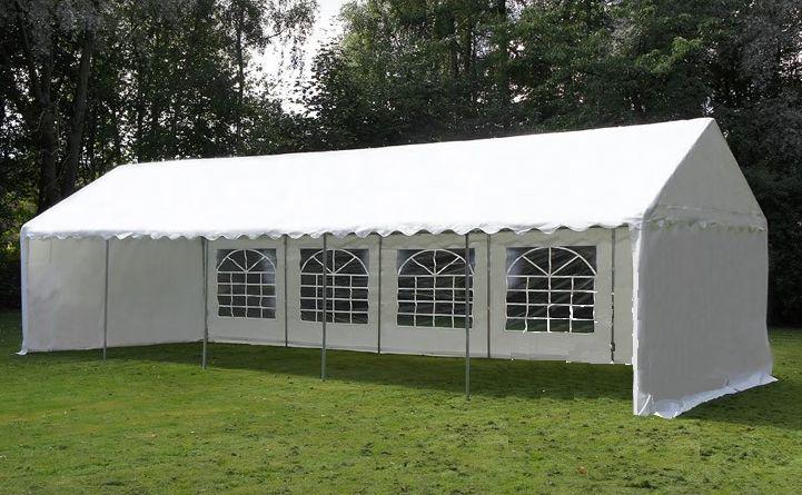 TENTE DE RECEPTION :Largeur: 5,00 m. Longueur: 10,00 m. Hauteur des côtés: 2,00 m. Hauteur sous faitiére: 2,75 m. Porte (L x H): 1,5x2/2,7x2 m. Porte: Ouverture de porte avec fermeture éclair sur les deux parois latéralesToile du toit: Polyéthylène 200 g/m², avec fermeture Velcro 100% étancheDes parties latérales: Polyéthylène 200 gr./m², avec fermeture Velcro Tubes / raccords: Solide structure en acier galvanisé. Location TENTE DE RECEPTION 10X5 à Dijon (21000)_www.placedelaloc.com