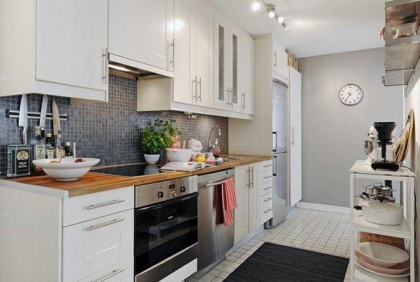small kitchen...