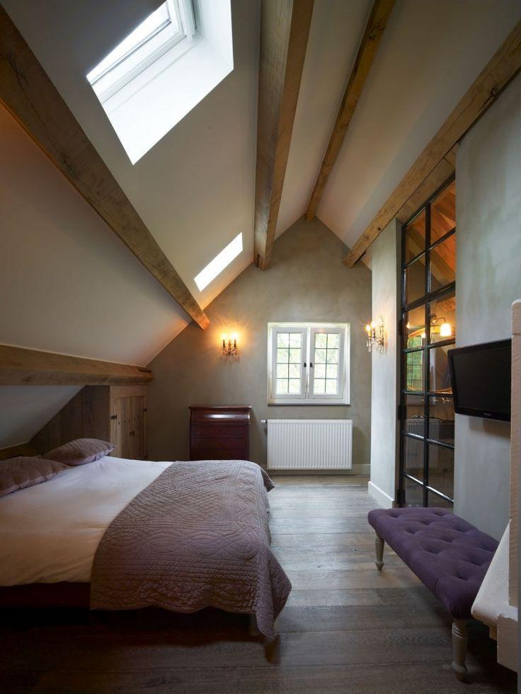 De ideale zolder is een ruimte die gebruikt kan worden als logeerkamer…