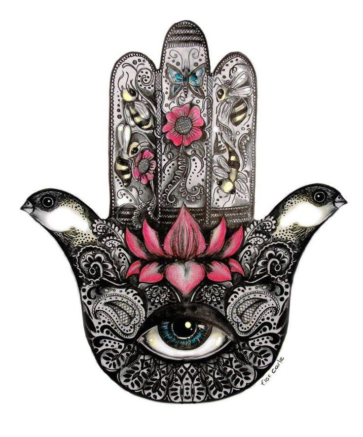 La mano de Fatima, ojo por ojo y todo el mundo acabara ciego.