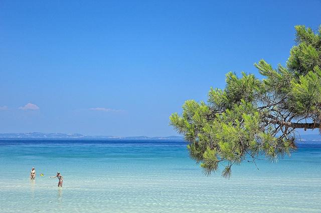 Karidi beach, Halkidiki, Greece
