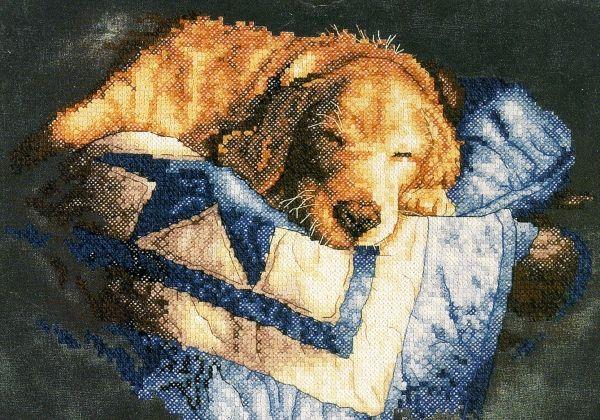 Набор для вышивания Dimensions 3220 Snooze В полудреме