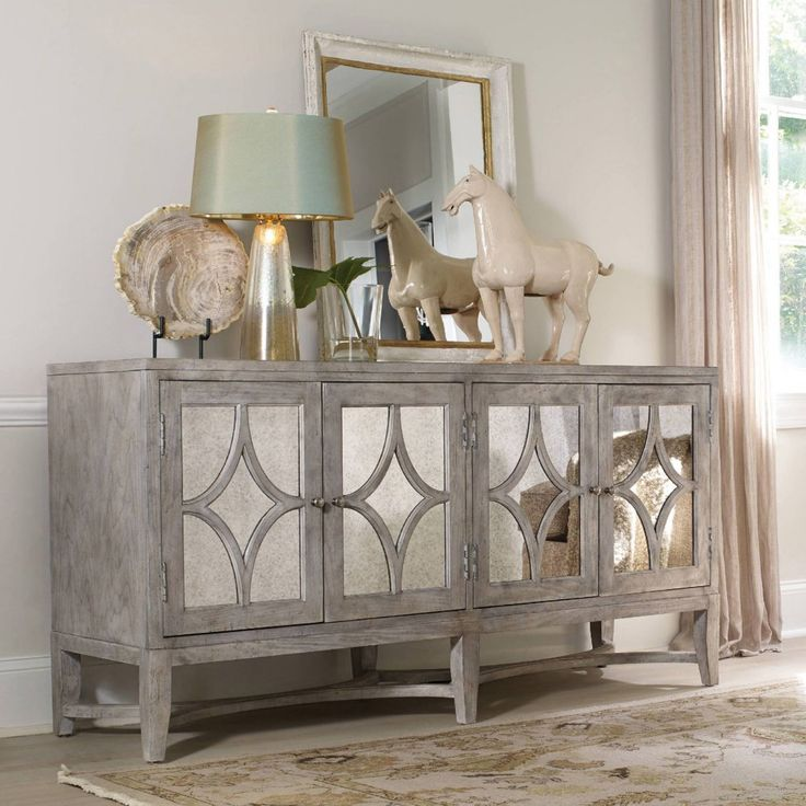 Hooker Furniture Melange Diamante Console Table - Credenzas at Hayneedle