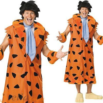 Mens deluxe fred flintstone #halloween #cartoon #fancy dress costume outfit,  View more on the LINK: 	http://www.zeppy.io/product/gb/2/401098361738/