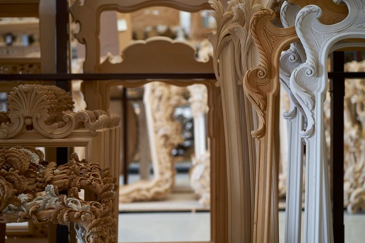 Frames ready to be decorated #robertogiovannini