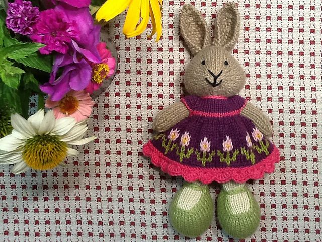 Ravelry: suzymarie's Garden Party Dress Bunny