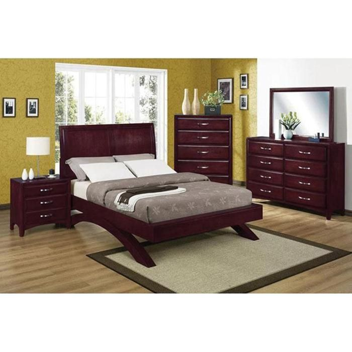 american furniture warehouse virtual store vera 5 piece bedroom set crown mark inc