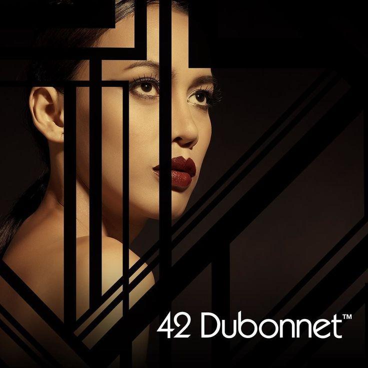 Deco flare for modern gals! 42 Dubonnet your beauty secret