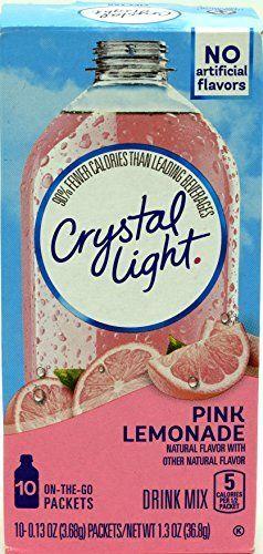 Crystal Light Drink Mix On The Go Pink Lemonade - 12 Pack