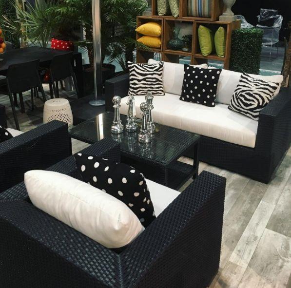 Zebra Sunbrella Cushions