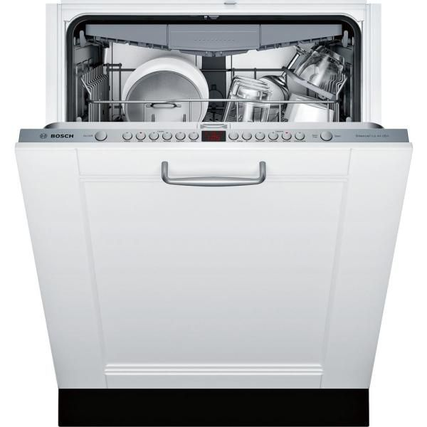Bosch 800 Series 24 In Ada Top Control Dishwasher In Custom Panel Ready With Stainless Steel Tub And 3rd Rack 44d In 2020 Steel Tub Top Control Dishwasher Dishwasher