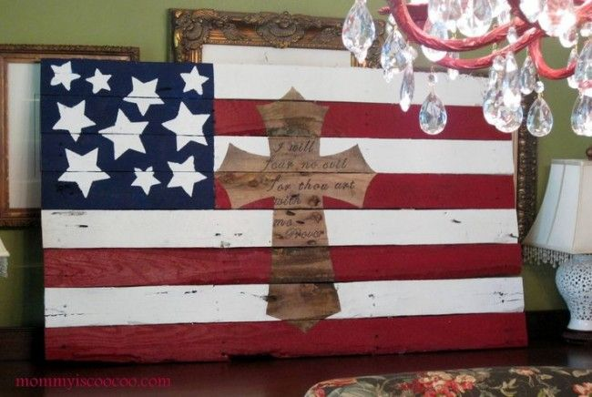 Patriotic pallet ideas - Debbiedoo's