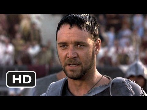Gladiator -- My name is Maximus Decimus Meridius. Commander of the Armies of the North, General of the Felix Legions, loyal servant to the true emperor Marcus Aurelius…father to a murdered son…husband to a murdered wife, and I will have my vengeance in this life or the next.