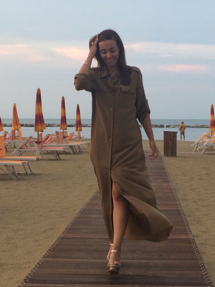 Celine dress at Rimini- Riccione