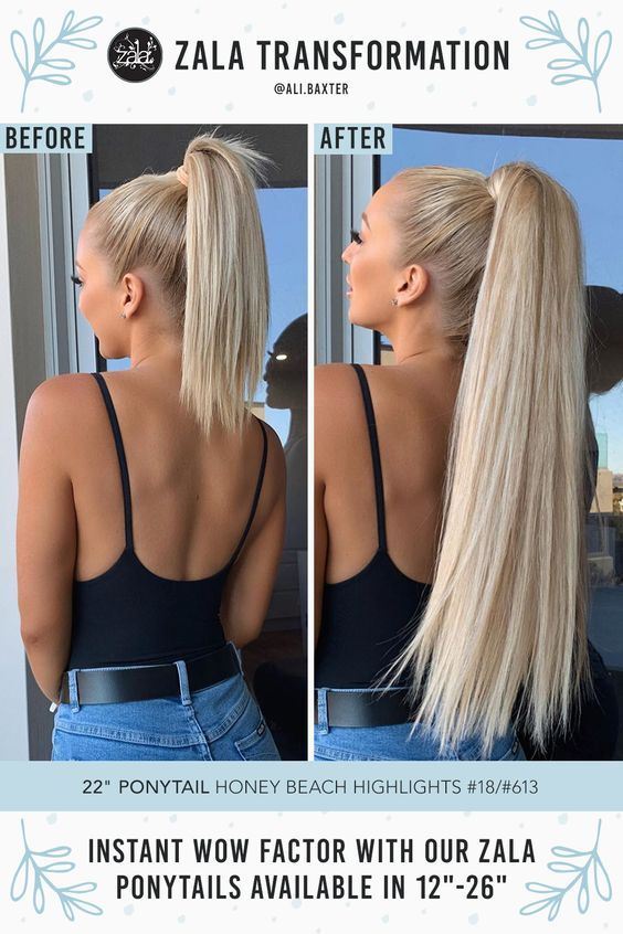 Clip, wrap, and GO! Ponytails perfect for every occasion in 12