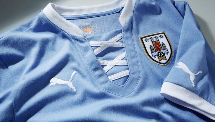 Uruguay Home Shirt 2013 by Puma