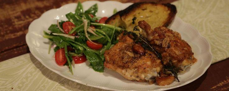 Chicken with 40 Cloves of Garlic Recipe | The Chew - ABC.com