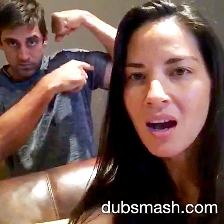 Olivia Munn and Aaron Rodgers have already shown off their sword fighting skills together, and now, they've taken to Instagram to prove that they've got lip sync skills, too.