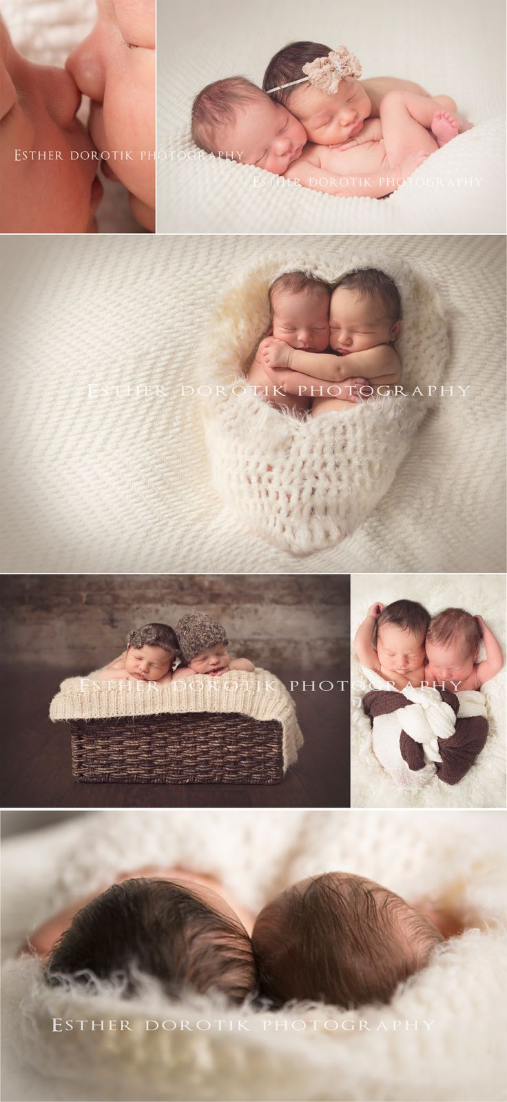 Love the little head shot! twin newborn photography, newborn twins, newborn photography, twin photo