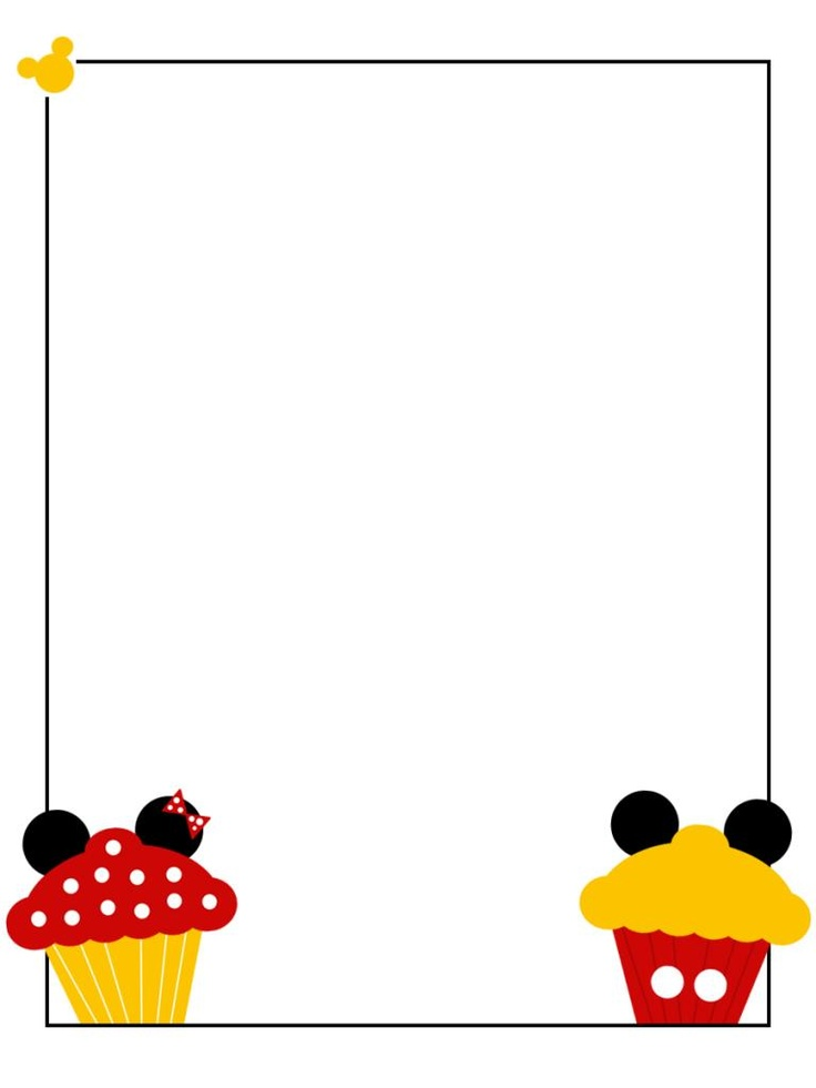 355 best disney project life scrapbook images on pinterest disney rh pinterest com free disney clipart borders Mickey Head Border