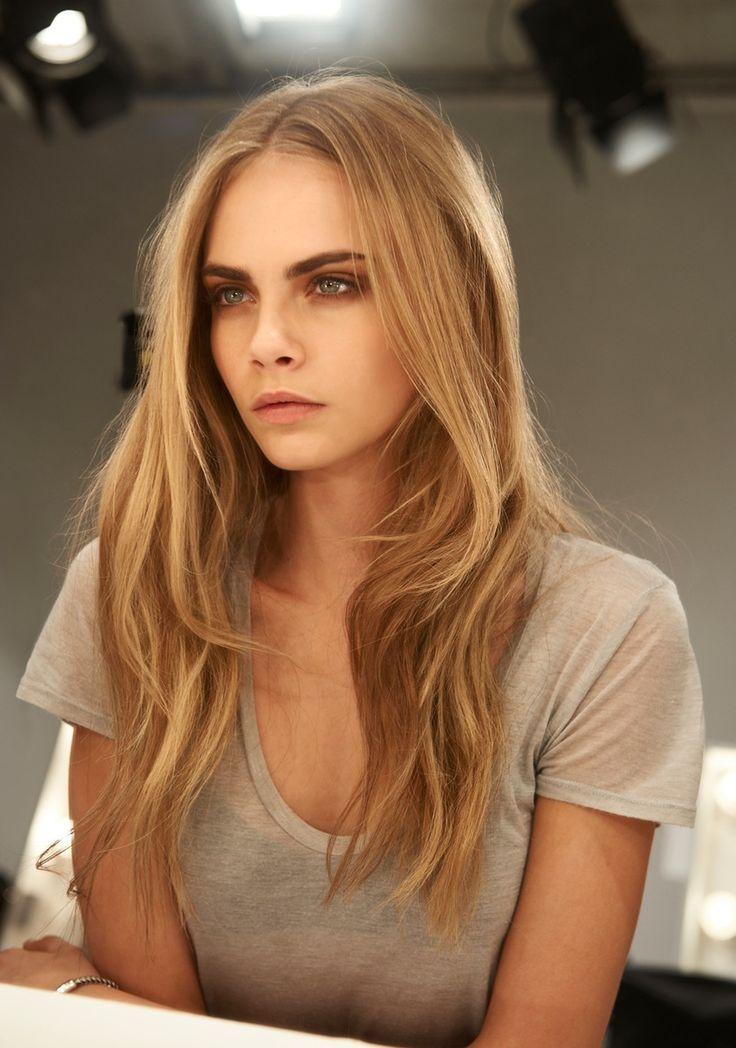 : Hair Colors, Blonde, Fashion Models, Casual Hair, Makeup, Delevingne Face, Caradelevingne, Smokey Eye, Green Eye