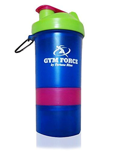 Bodybuilding Shaker Bottle | GYM FORCE #1 Weight Loss Diet BPA Free Smart Protein Shakers Quality Guaranteed with Travel Compartment Stainless Steel Blender Ball GYM FORCE http://www.amazon.com/dp/B00Z7OV80U/ref=cm_sw_r_pi_dp_m1DXvb1Q1W15N