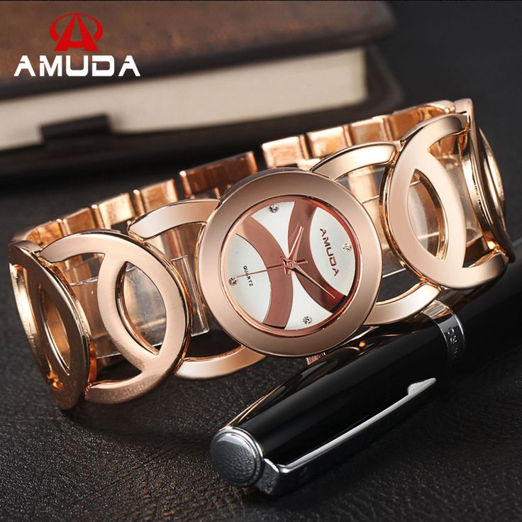 AMUDA 2016 Gold Watch Women 5 Colors High Quality Shinning Women Watches Brand Ladies Watch-in Women's Watches from Watches on Aliexpress.com | Alibaba Group