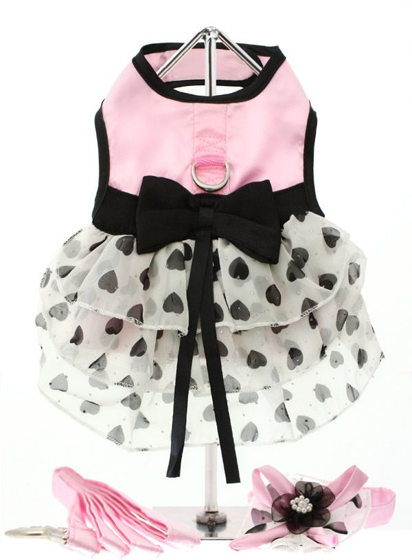 URBAN PUP DOG HARNESS DRESS,HAT & LEAD