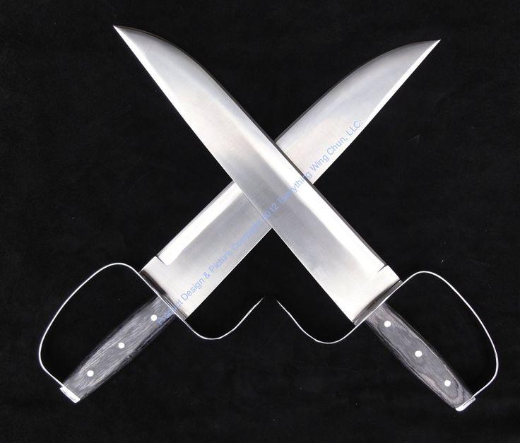 Moy Yat Wing Chun Butterfly Swords - D2 Blade - Sharp