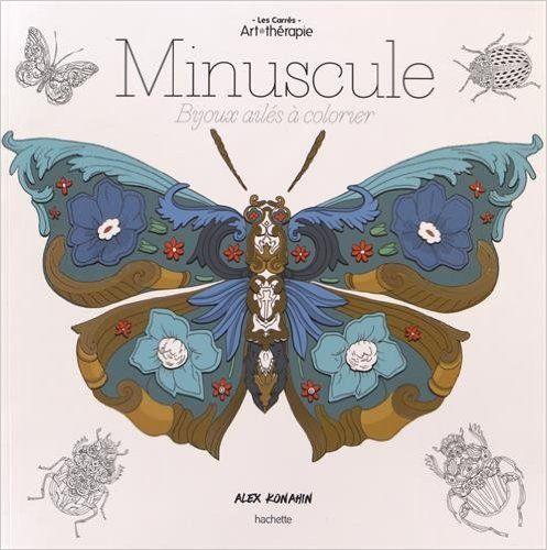 Minuscule Bijoux Ailes A Colorier Amazoncouk Alex Konahin Anti Stress Coloring BookColoring
