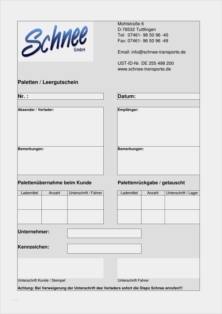 Rnk Verlag Vordruck Palettenschein Lademittelnachweis 3