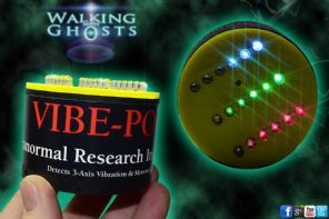 Vibe Pod 3-Axis Vibration & Movement Detector RGB LED Paranormal Research