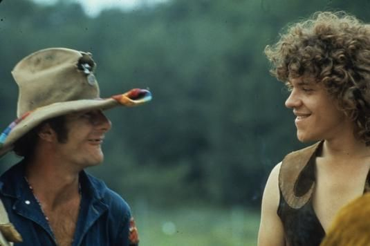 Wavy Gravy and Michael Lang before Woodstock 1969