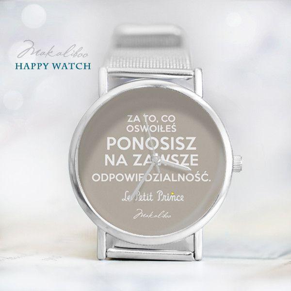 Happy+Watch+-+Mały+Książę+-+Odpowiedzialność+w+Makaliboo+na+DaWanda.com