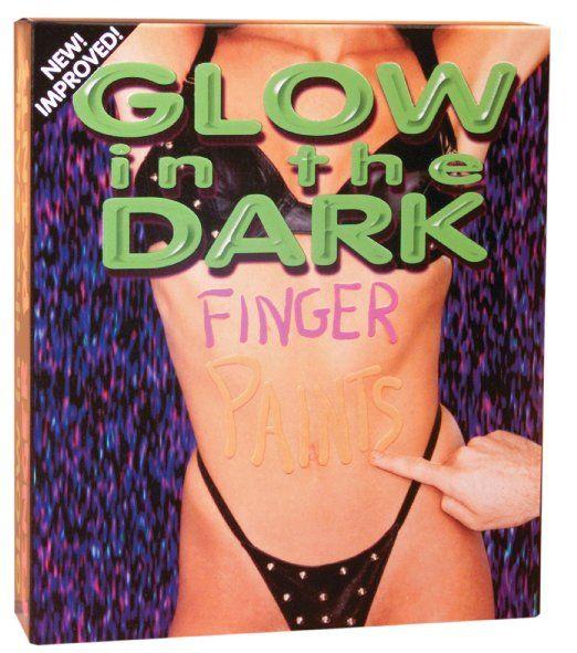 Body Paint - Glow In The Dark Body Paint (Set of 4) #6560