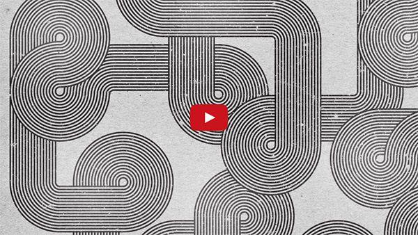 Video Tutorial: Retro Style Geometric Lines Artwork