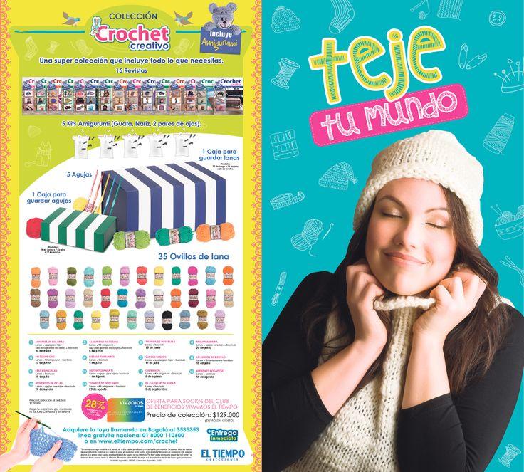 Colección Crochet Creativo El Tiempo Casa Editorial 2014