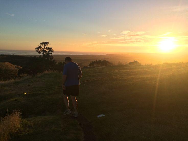 Papamoa Hills, Tauranga, New Zealand #newzealand #sunrise